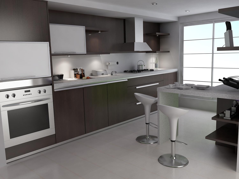 Dapur yang bersih membuat semangat untuk masak