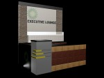 3d Backdrop dan Meja Receptionist Alt2